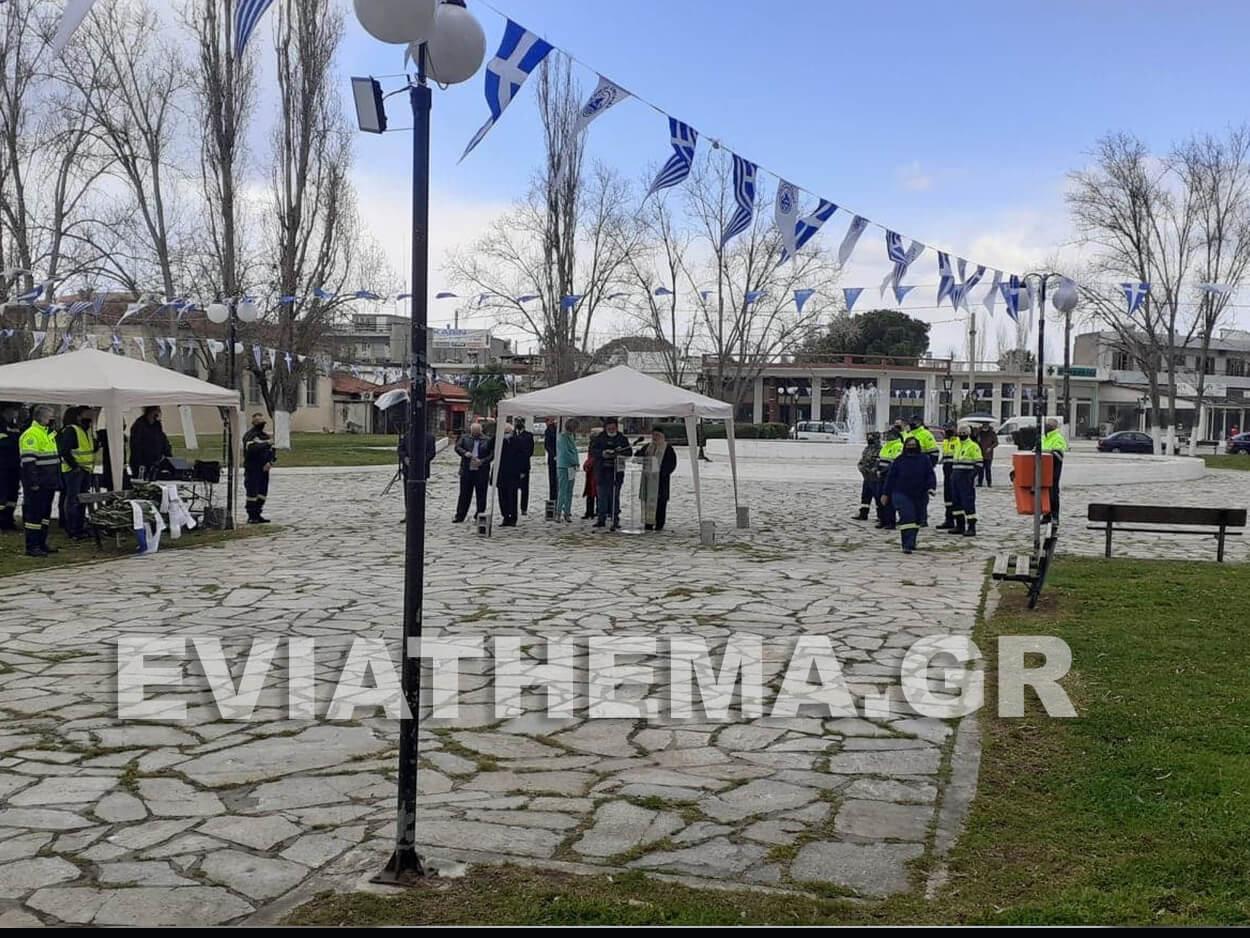 Κατάθεση στεφάνου από την ΕΣΔΔΕ σήμερα στα πλαίσια της εορτής της 25ης Μαρτίου