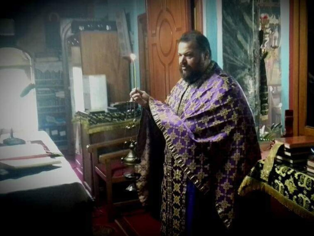 Αμάρυνθος Ευβοίας - Πατέρας Δημήτριος Άνω Βάθεια