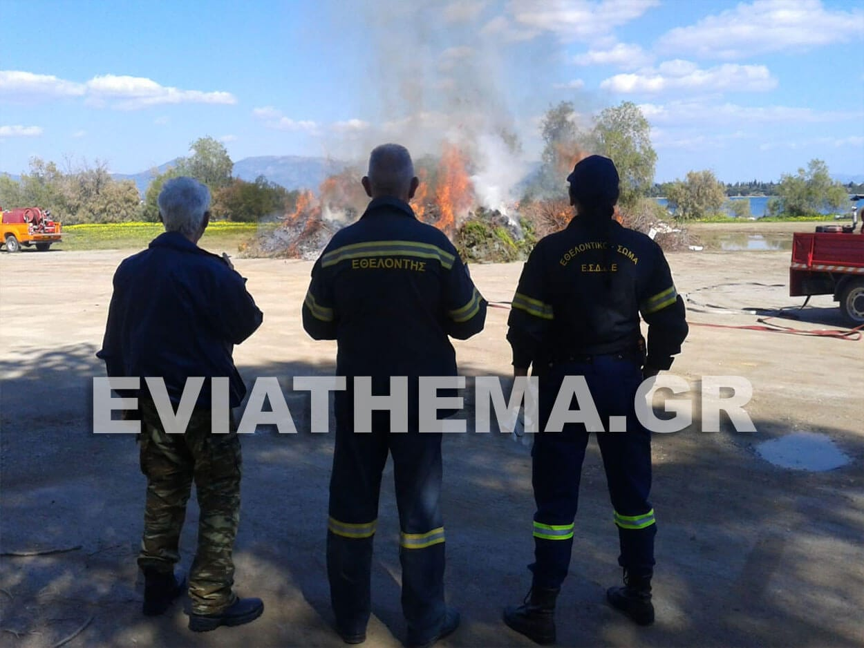 Αναστατώθηκαν οι κάτοικοι του Δήμου Ερετρίας όταν εχθές ακόμα και από την Άνω Βάθια, Αναστάτωση στην Ερέτρια – Νόμιζαν ότι έπιασε φωτιά στο νησί των ονείρων…, Eviathema.gr | ΕΥΒΟΙΑ ΝΕΑ - Νέα και ειδήσεις από όλη την Εύβοια