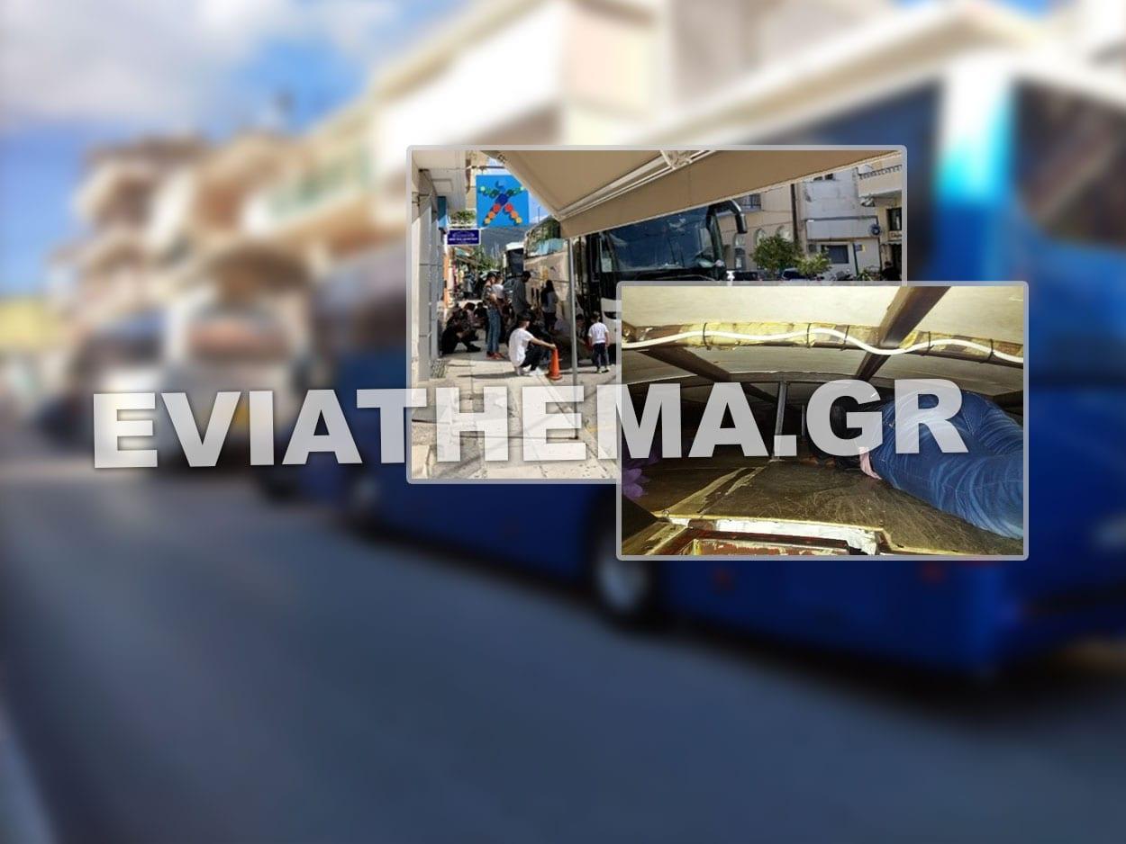 Κατασχέθηκε λεωφορείο του ΚΤΕΛ που εκτελούσε το δρομολόγιο Αθήνα-Ιωάννινακαι συνελήφθη ο οδηγός του, Μετά τον οδηγό λεωφορείου Τουριστικού Γραφείου της Εύβοιας, νέο συμβάν διακίνησης λαθρομεταναστών με οδηγό του ΚΤΕΛ – Κατασχέθηκε το λεωφορείο, Eviathema.gr | ΕΥΒΟΙΑ ΝΕΑ - Νέα και ειδήσεις από όλη την Εύβοια