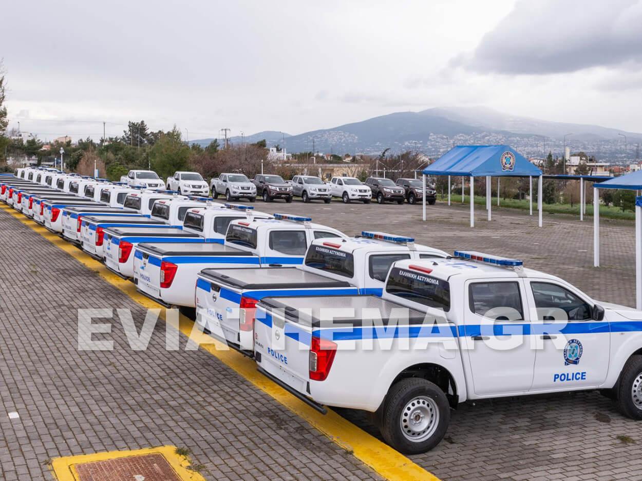 Στην άμεση ενίσχυση της Ελληνικής Αστυνομίας με 53 περιπολικά οχήματα του κορυφαίουpick-upNAVARA, Ενίσχυση του στόλου περιπολικών της Ελληνικής Αστυνομίας με Nissan NAVARA, Eviathema.gr | ΕΥΒΟΙΑ ΝΕΑ - Νέα και ειδήσεις από όλη την Εύβοια