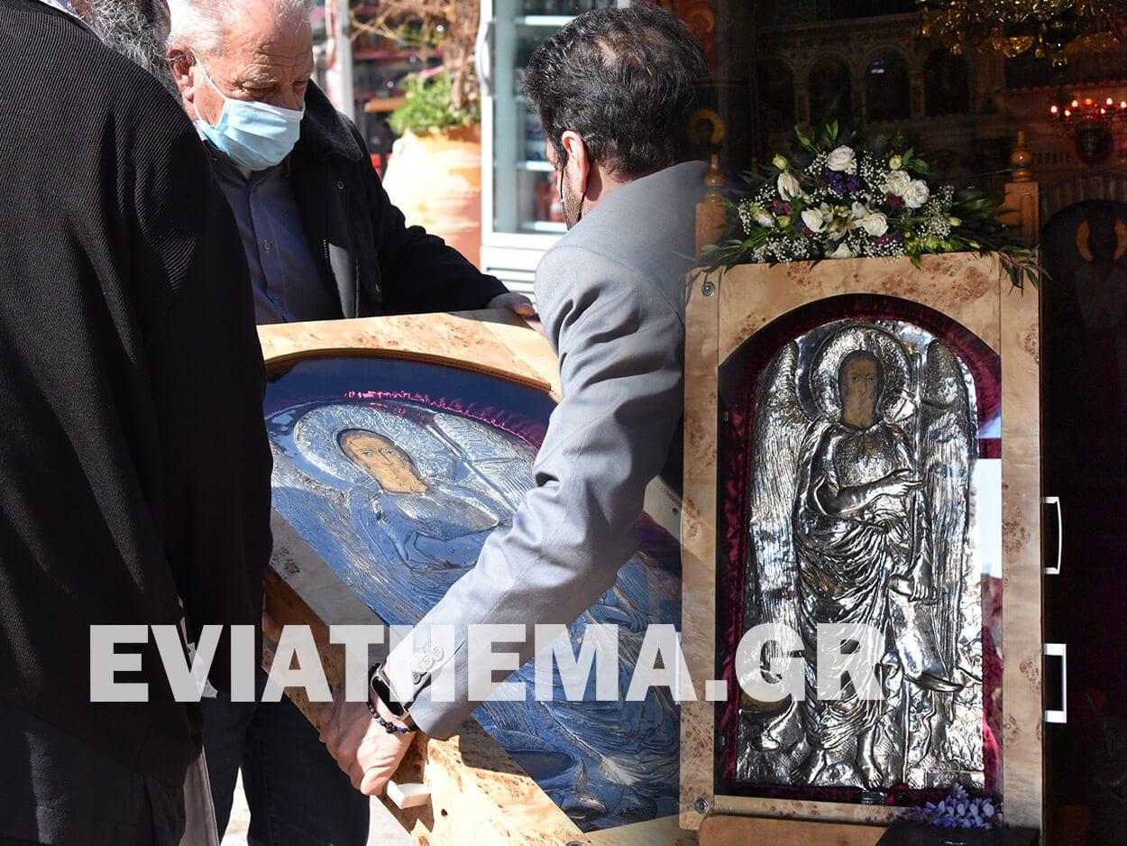Ψαχνά Ευβοίας - Θαυματουργή εικόνα Αγίου Ιωάννου Κατουνιώτη