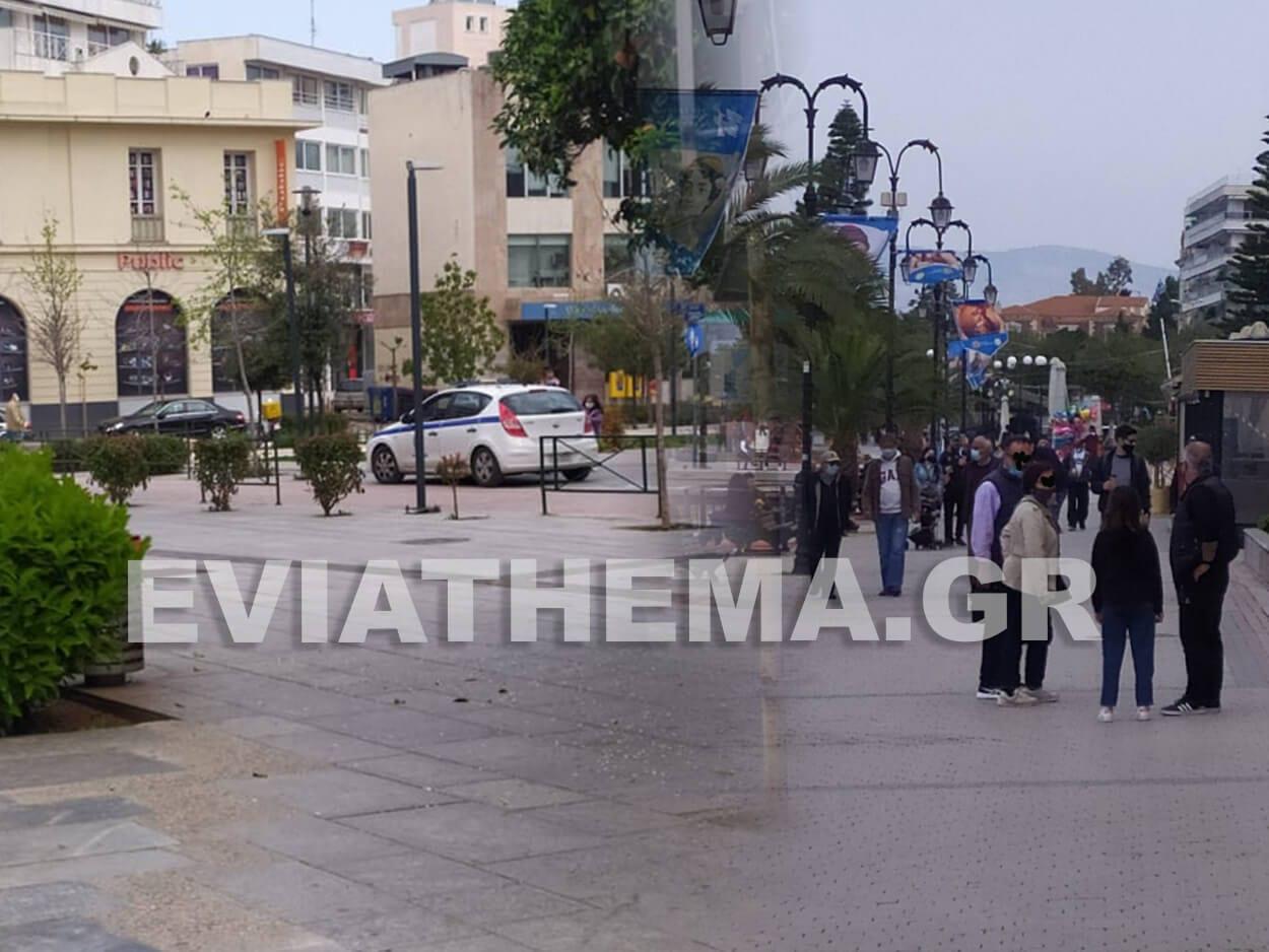 , Χαλκίδα: Άδεια η Αβάντων …Γεμάτη η παραλία το πρωί της Κυριακής  [ΦΩΤΟ], Eviathema.gr | Εύβοια Τοπ Νέα Ειδήσεις