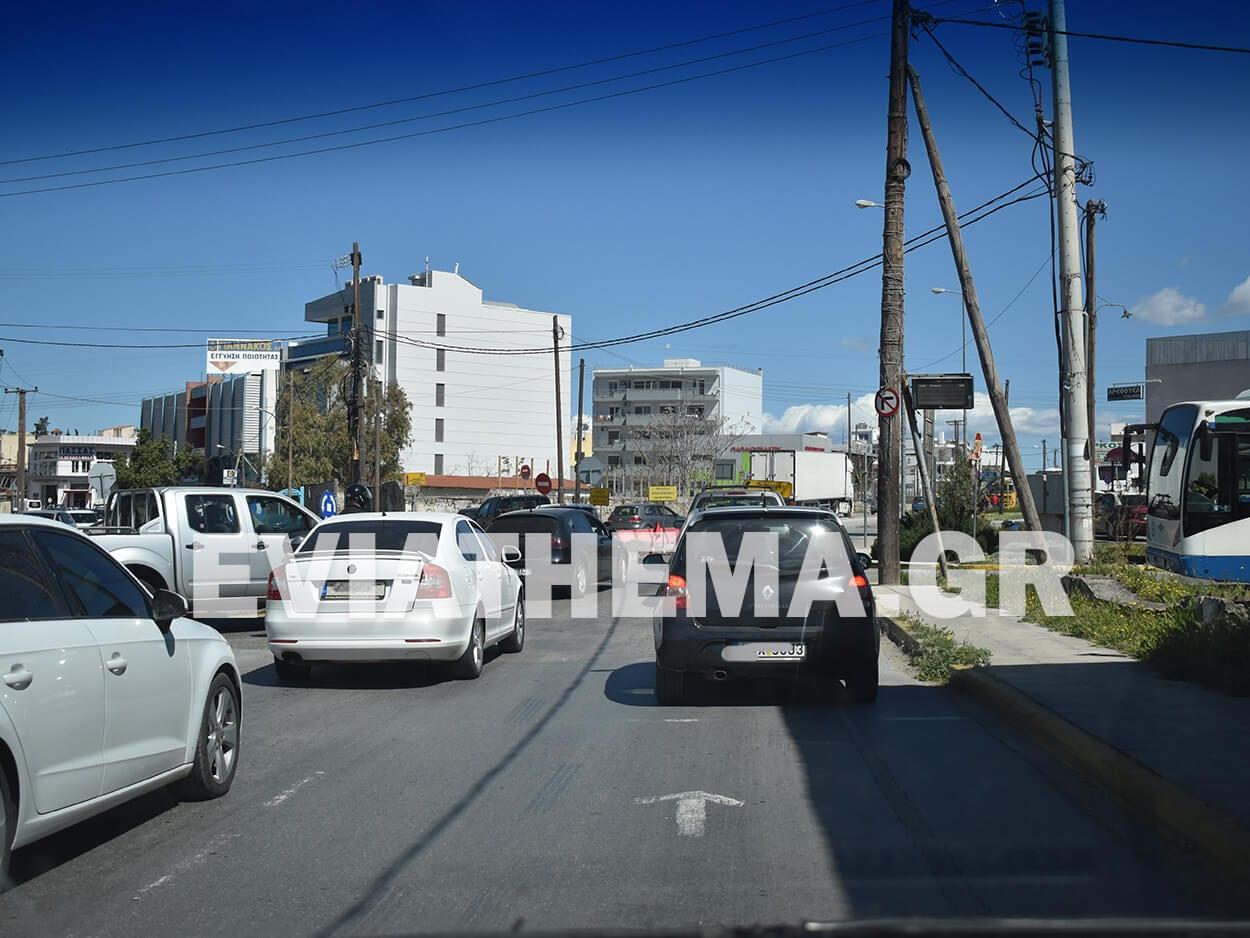 Χαλκίδα: Μεγάλο μποτιλιάρισμα από και προς τον Κόμβο Αγίου Στεφάνου λόγω των έργων, Χαλκίδα: Τροχαίο ατύχημα στον Κόμβο Αγίου Στεφάνου Μεγάλο μποτιλιάρισμα από και προς τον Κόμβο [ΦΩΤΟΓΡΑΦΙΕΣ], Eviathema.gr | Εύβοια Τοπ Νέα Ειδήσεις