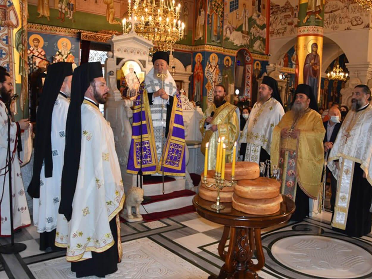 , Πραγματοποιήθηκε ο Μέγας εσπερινός της πανηγύρεως του Οσίου Ιωάννου του Ρώσσου στην Ιερά Μητρόπολη Χαλκίδος, Eviathema.gr | Εύβοια Τοπ Νέα Ειδήσεις