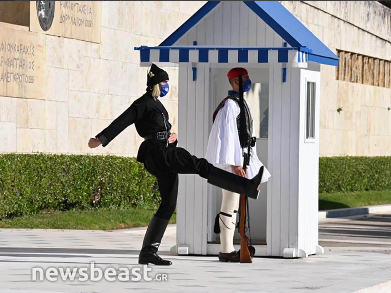, Εύζωνες με ποντιακή στολή στο Μνημείο του Αγνώστου Στρατιώτη για τα 102 χρόνια από τη Γενοκτονία των Ποντίων, Eviathema.gr   Εύβοια Τοπ Νέα Ειδήσεις