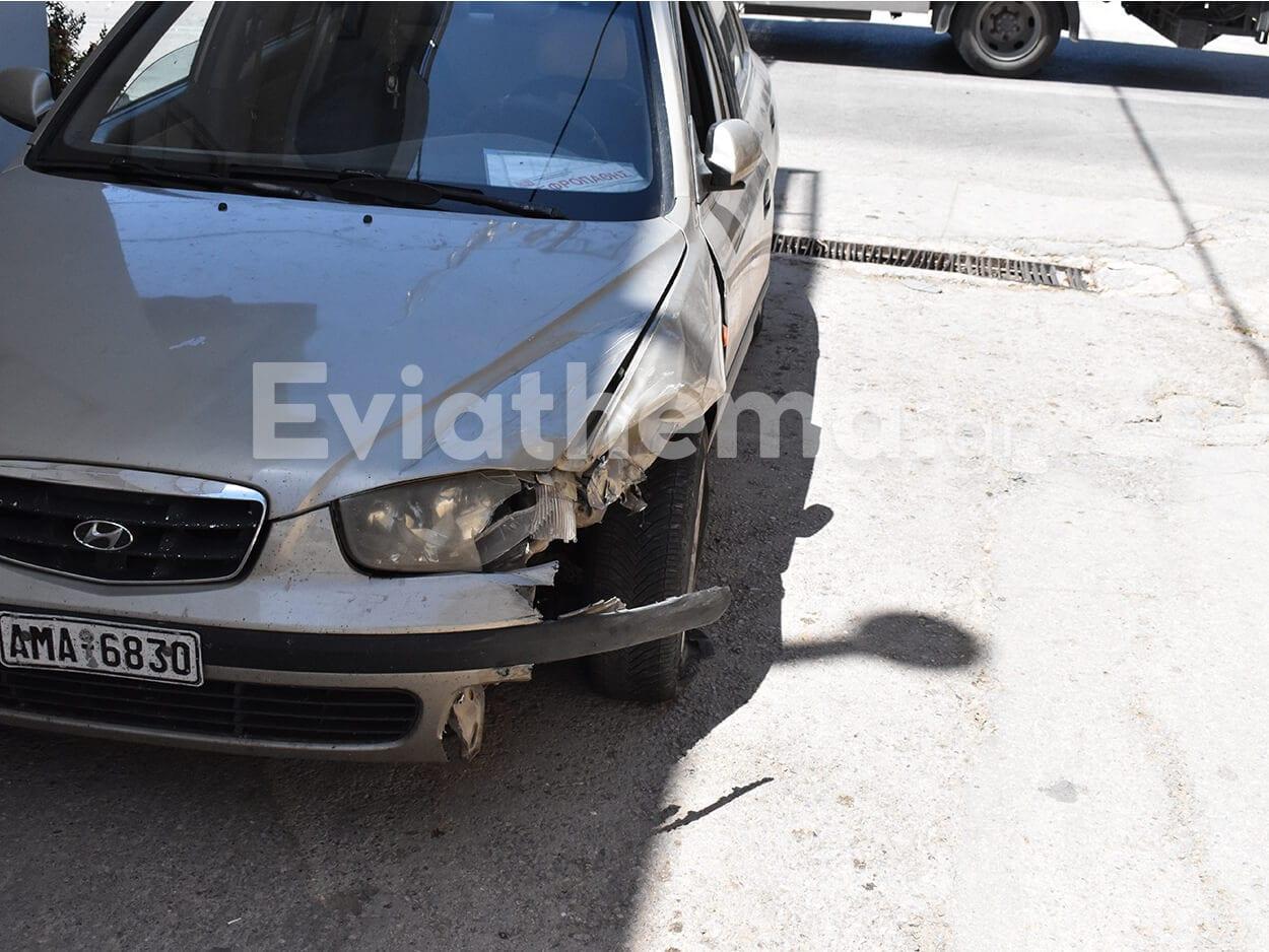 Καστέλλα Ευβοίας: Τροχαίο ατύχημα το μεσημέρι