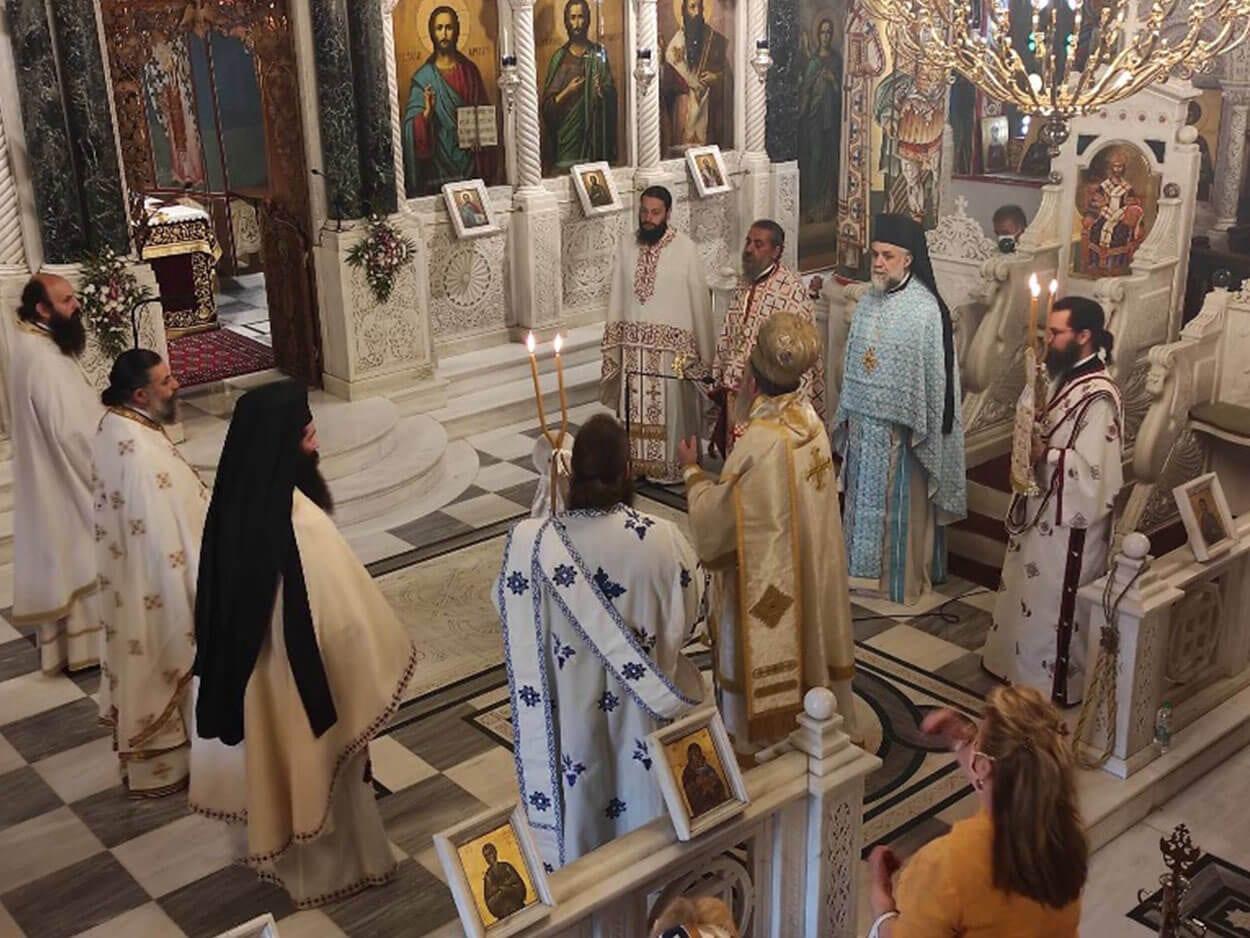 , Κυριακή της Σαμαρείτιδος στο Ιερό Προσκύνημα Οσίου Ιωάννου του Ρώσσου στο Προκόπι – Χειροθεσία νέου Πρωτοπρεσβύτερου, Eviathema.gr | Εύβοια Τοπ Νέα Ειδήσεις