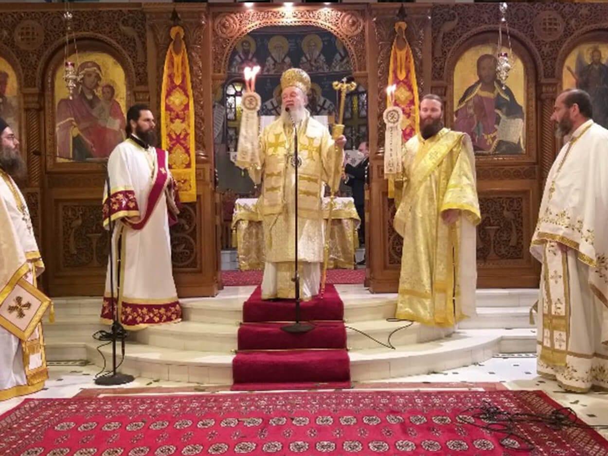 Με λαμπρότητα εορτάστηκε η Ανάσταση στον Μητροπολιτικό Ναό Αγίου Δημητρίου Χαλκίδας, Με λαμπρότητα εορτάστηκε η Ανάσταση στον Μητροπολιτικό Ναό Αγίου Δημητρίου Χαλκίδας, Eviathema.gr   ΕΥΒΟΙΑ ΝΕΑ - Νέα και ειδήσεις από όλη την Εύβοια