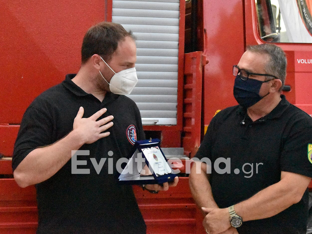 Ψαχνά Ευβοίας: Ανώνυμος ευεργέτης από την Ελβετία έκανε δωρεά όχημα επάνδρωσης στον ΣΕΔΔΔ, Ψαχνά Ευβοίας: Η Ομάδα SAFeRS από την Γερμανία έκανε δωρεά όχημα επάνδρωσης στον ΣΕΔΔΔ – 4 εθελοντές το παρέδωσαν οδικός – Πραγματοποιήθηκε ο αγιασμός και η παρουσίαση [ΦΩΤΟΓΡΑΦΙΕΣ], Eviathema.gr   Εύβοια Τοπ Νέα Ειδήσεις