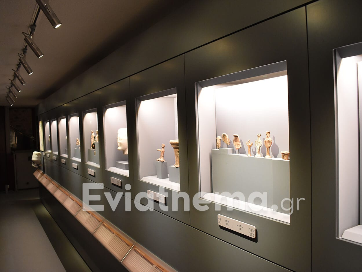 """Πραγματοποιήθηκαν τα εγκαίνια του νέου Αρχαιολογικού Μουσείου """"Αρέθουσα"""""""