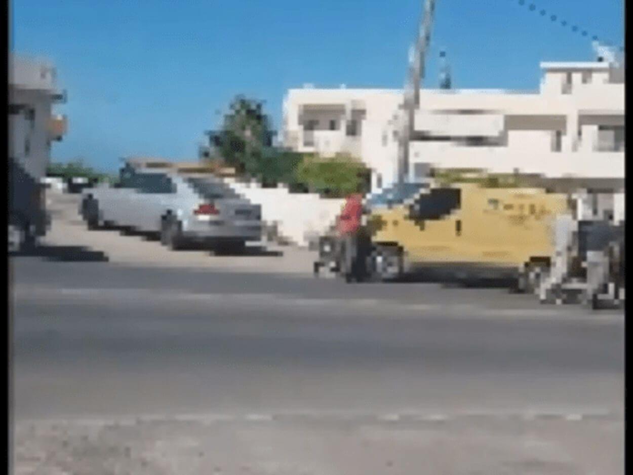 , Βίντεο: Βγήκαν τα τσεκούρια στη μέση του δρόμου!, Eviathema.gr   Εύβοια Τοπ Νέα Ειδήσεις