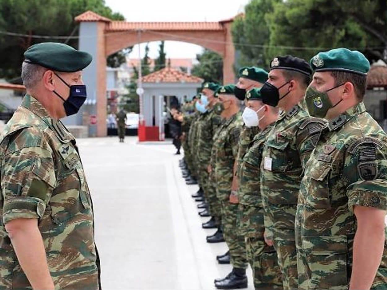 Α/ΓΕΕΘΑ: Επίσκεψη του Ευβοιώτη Στρατηγού Φλώρου, Α/ΓΕΕΘΑ: Επίσκεψη του Ευβοιώτη Στρατηγού Φλώρου στους Πεζοναύτες της 32ης Ταξιαρχίας [pics], Eviathema.gr   Εύβοια Τοπ Νέα Ειδήσεις