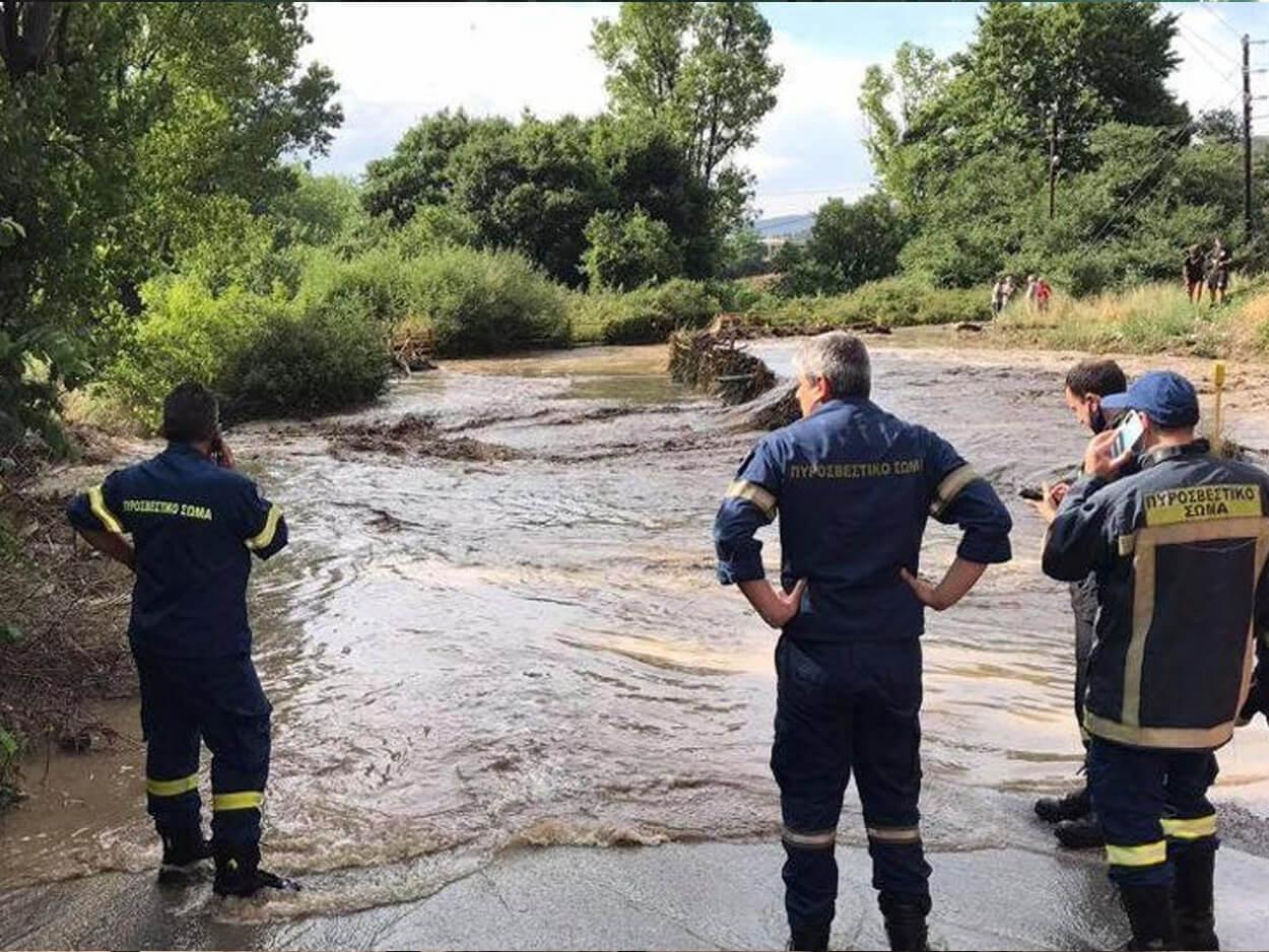 Θεσσαλονίκη: Βρέθηκε νεκρός άνδρας από την κακοκαιρία, Θεσσαλονίκη: Βρέθηκε νεκρός άνδρας από την κακοκαιρία – Το όχημά του παρασύρθηκε από τα νερά, Eviathema.gr | Εύβοια Τοπ Νέα Ειδήσεις