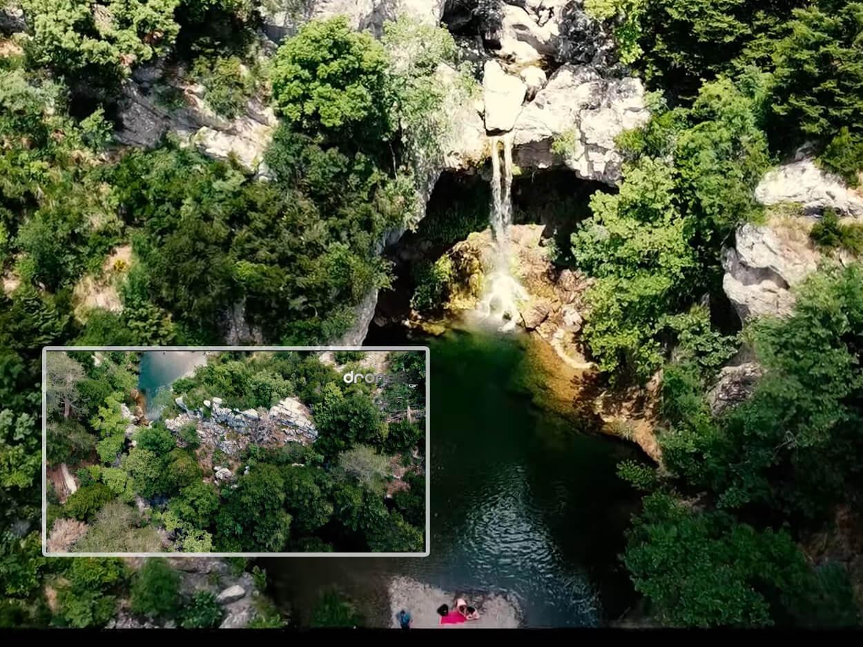 Πάνω από τους καταρράκτες του Δρυμώνα στη βόρεια Εύβοια, Πάνω από τους καταρράκτες του Δρυμώνα στη βόρεια Εύβοια -Τρεχούμενα νερά, πλατάνια και ειδυλλιακές λίμνες, Eviathema.gr   Εύβοια Τοπ Νέα Ειδήσεις