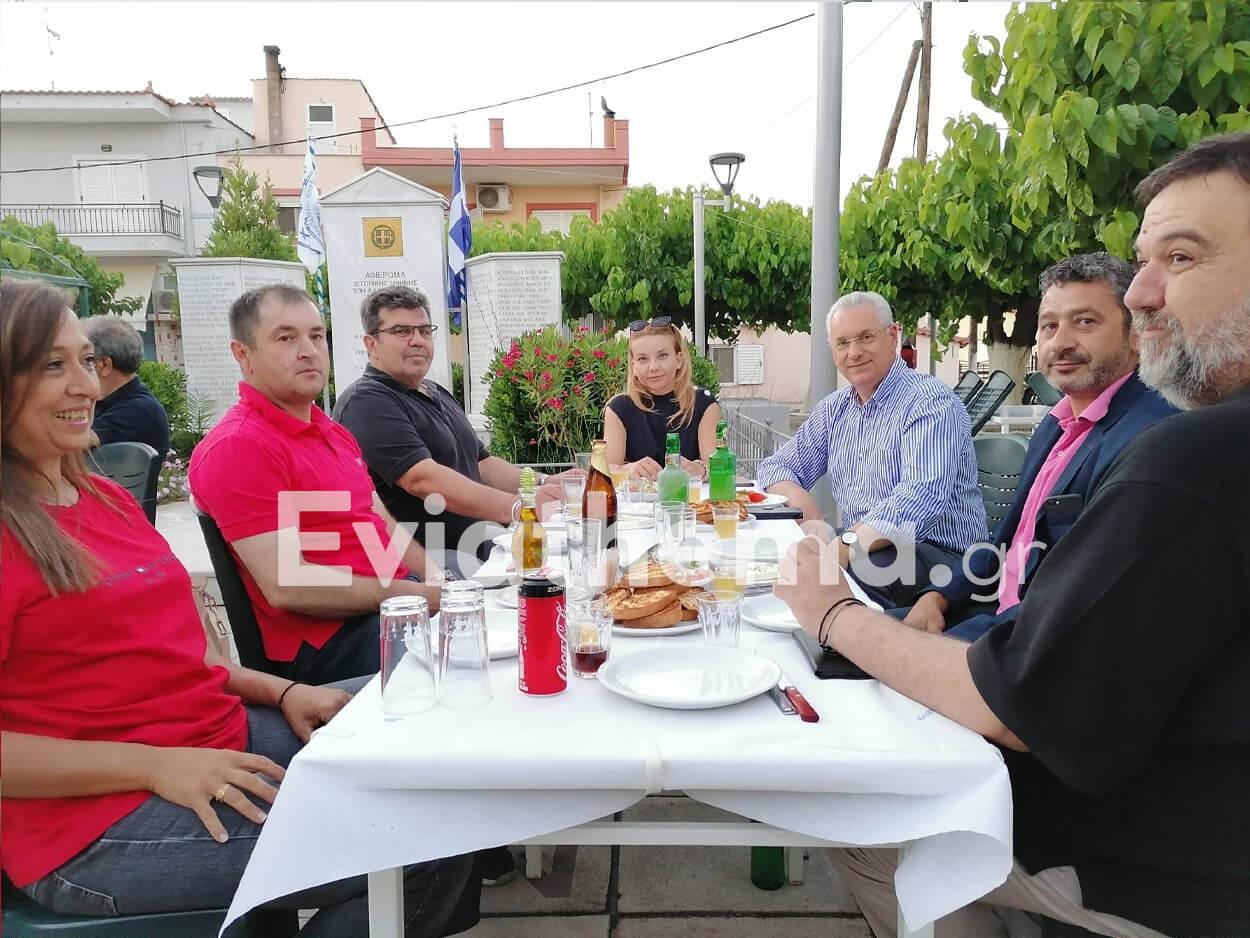 προσφιλή Πρώην Υπουργό Κώστα Μαρκόπουλο, Συναντήθηκαν μετά από καιρό…, Eviathema.gr | Εύβοια Τοπ Νέα Ειδήσεις