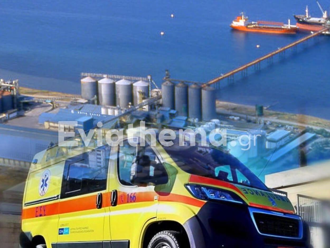 EKTAKTO - Ψαχνά Ευβοίας: Εργατικό ατύχημα στην ΣΟΓΙΑ ΕΛΛΑΣ, EKTAKTO – Ψαχνά Ευβοίας: Εργατικό ατύχημα στην ΣΟΓΙΑ ΕΛΛΑΣ – Εκτός κινδύνου ο οδηγός του κλάρκ, Eviathema.gr | Εύβοια Τοπ Νέα Ειδήσεις