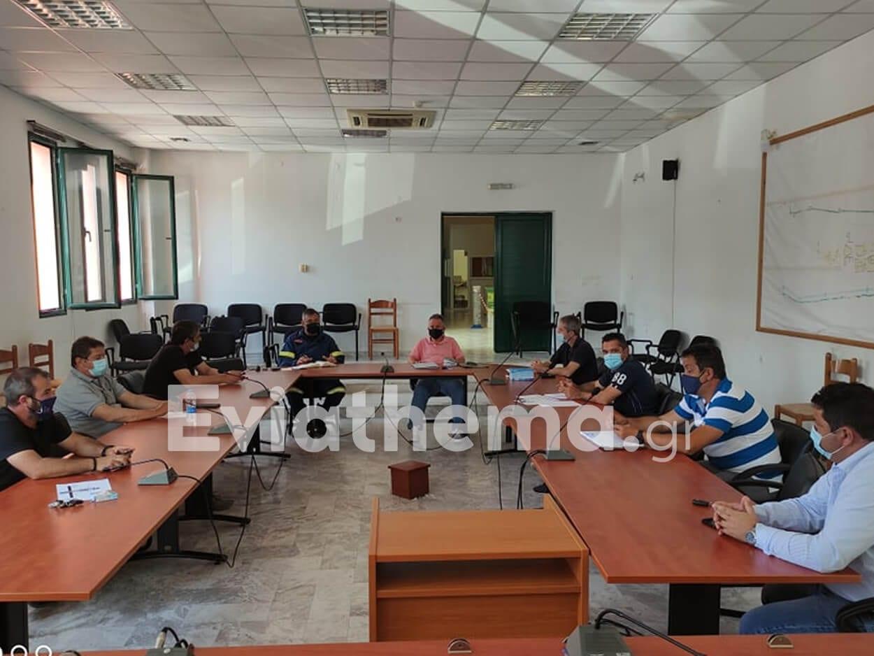 Μαντούδι: Συνεδρίασε το τοπικό συντονιστικό Πολιτικής Προστασίας, Μαντούδι: Συνεδρίασε το τοπικό συντονιστικό Πολιτικής Προστασίας, Eviathema.gr | Εύβοια Τοπ Νέα Ειδήσεις