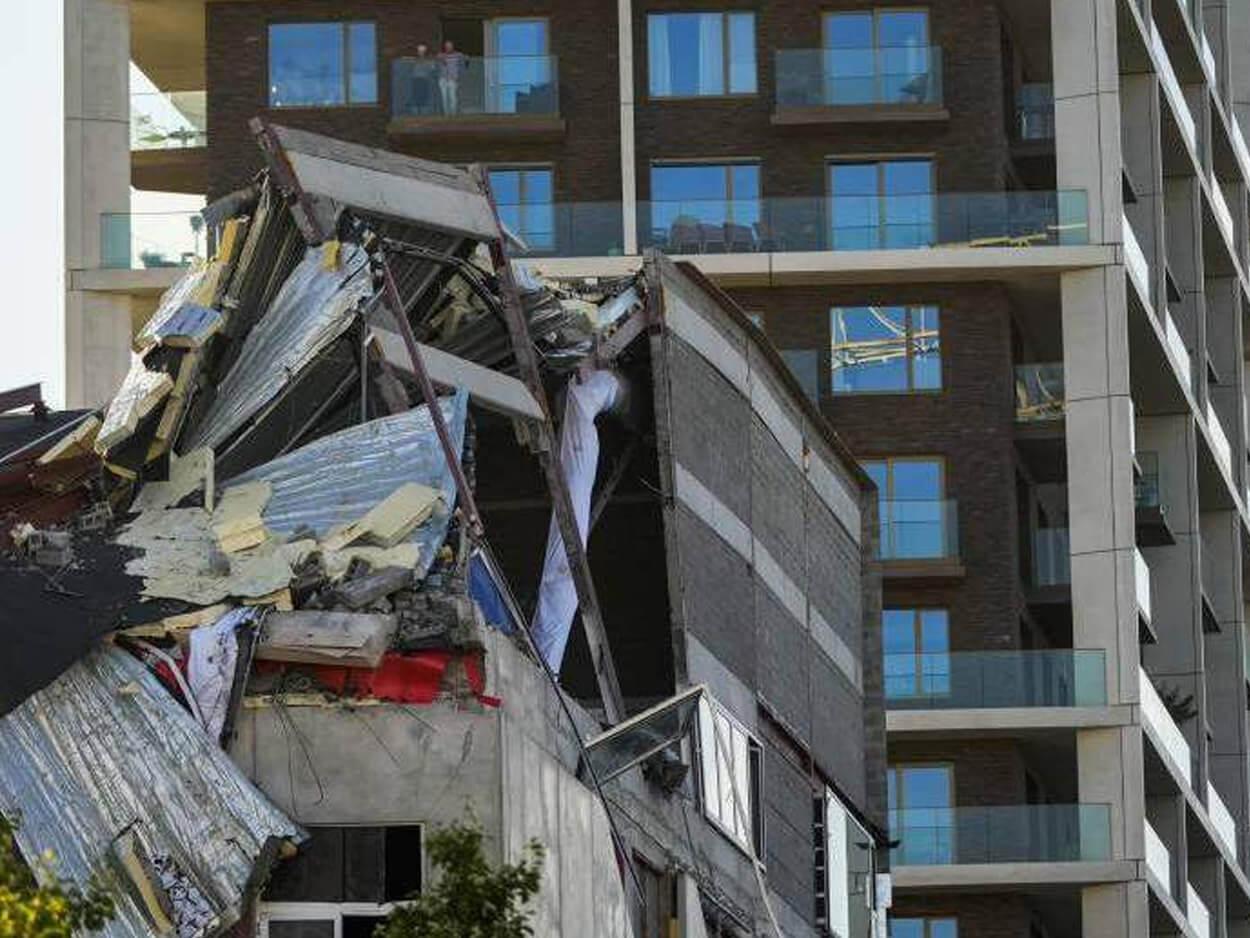 Βέλγιο: Πέντε νεκροί οικοδόμοι, Βέλγιο: Πέντε νεκροί οικοδόμοι από την κατάρρευση υπό κατασκευή σχολείου στην Αμβέρσα, Eviathema.gr | Εύβοια Τοπ Νέα Ειδήσεις