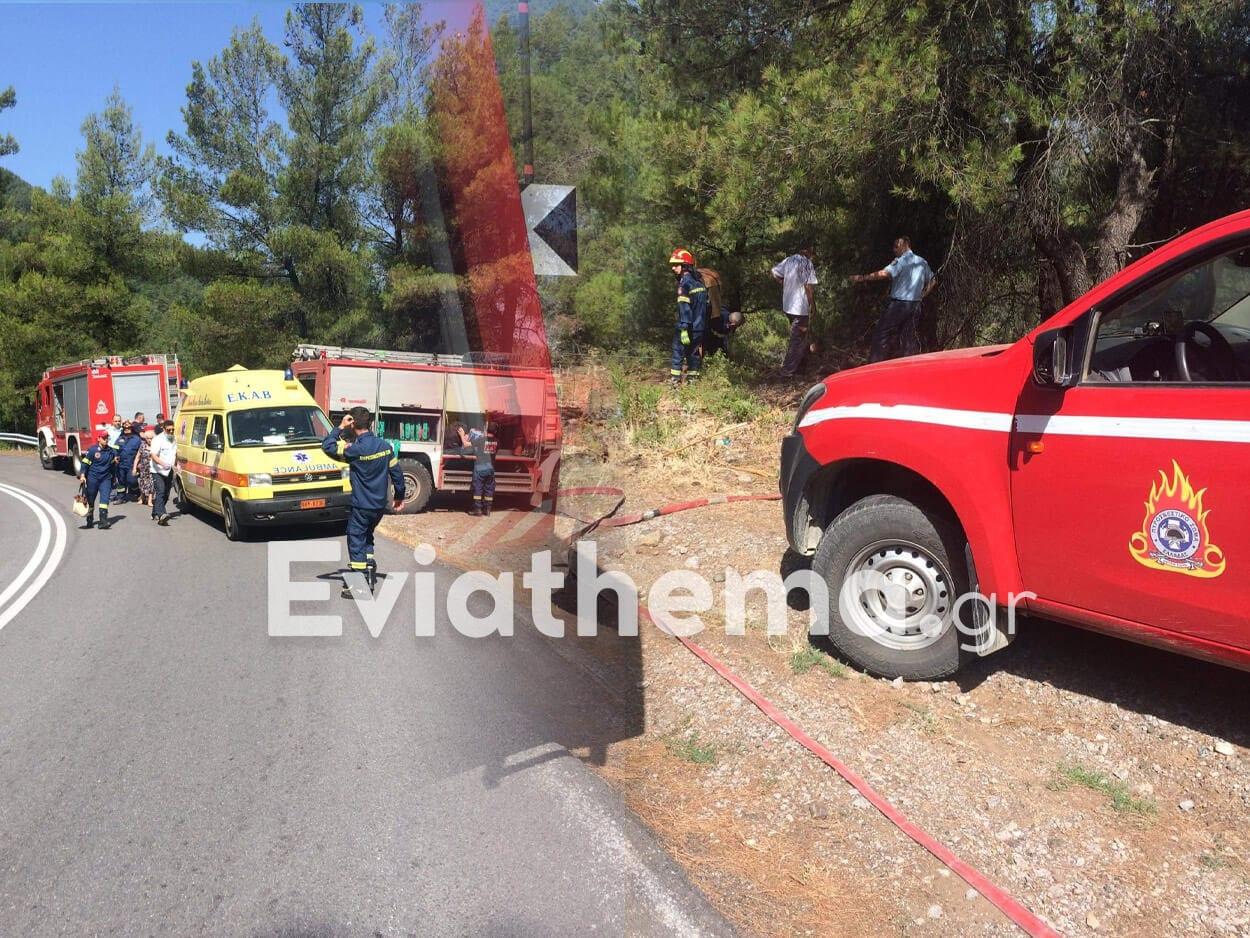 Εύβοια: Σοκαριστικό τροχαίο - Ηλικιωμένο ζευγάρι έπεσε σε γκρεμό 100 μέτρων, Εύβοια: Σοκαριστικό τροχαίο – Ηλικιωμένο ζευγάρι έπεσε σε γκρεμό 100 μέτρων [ΦΩΤΟ], Eviathema.gr | Εύβοια Τοπ Νέα Ειδήσεις