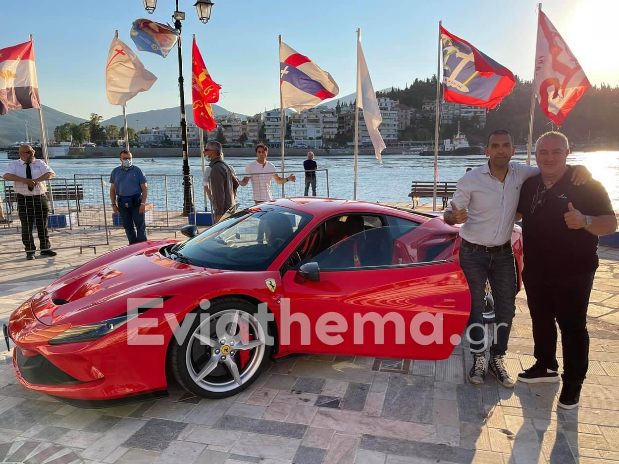 Χαλκίδα: Ο Παγκοσμίως βραβευμένος Ιταλός πιλότος της Ferrari, Χαλκίδα: Ο Παγκοσμίως βραβευμένος Ιταλός πιλότος της Ferrari έκανε στάση για πίτσα στο καλύτερο Ιταλικό εστιατόριο La Strada [ΦΩΤΟ], Eviathema.gr | Εύβοια Τοπ Νέα Ειδήσεις