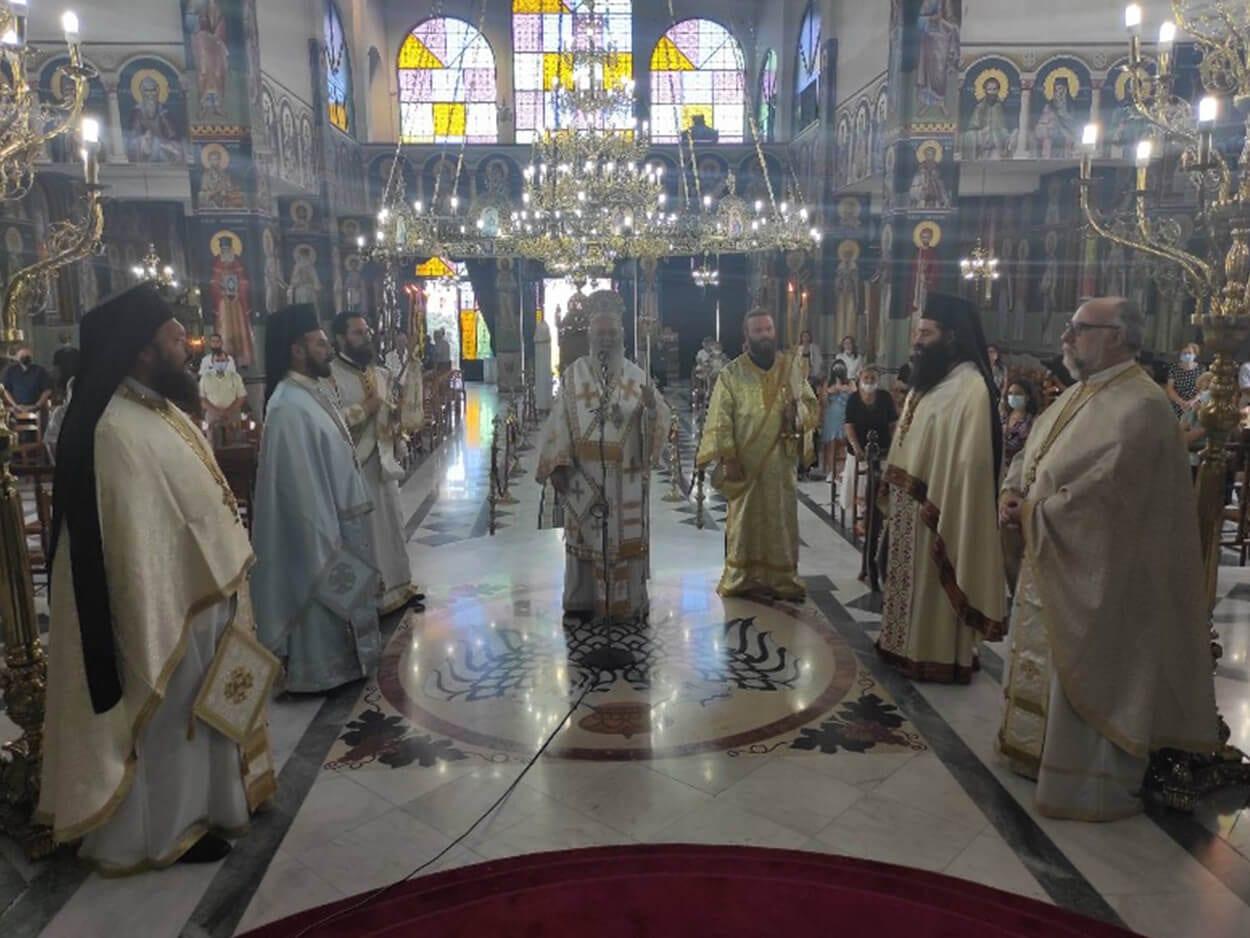 Χαλκίδα πανήγυρη της Αγίας μεγαλομάρτυρος Μαρίνης