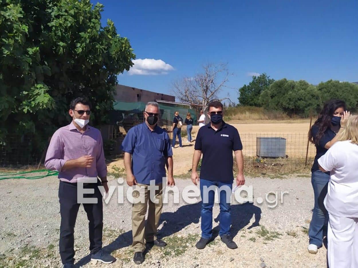 Αλιβέρι: Εθελοντική δράση ΑΓΕΤ
