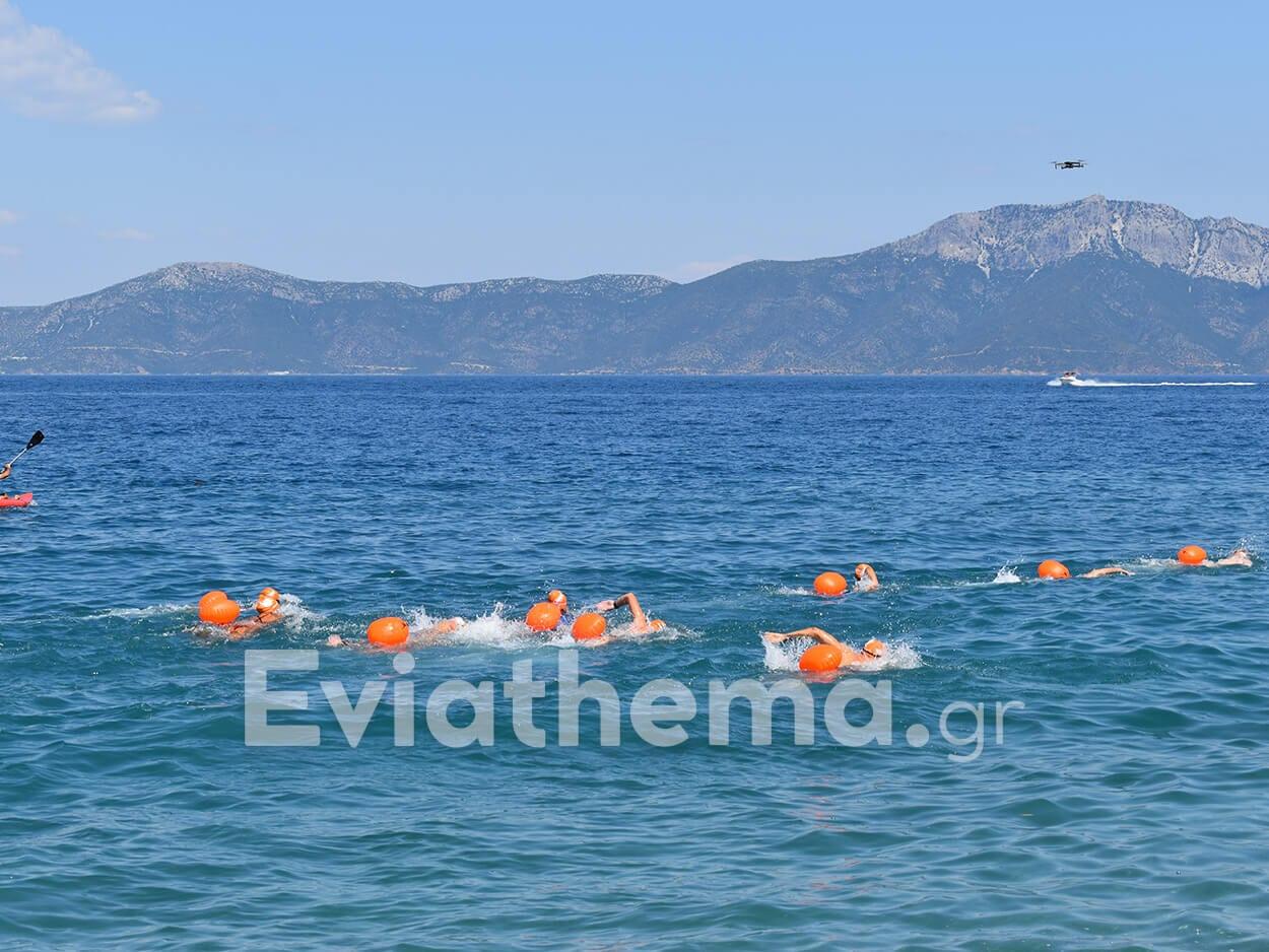 Αυθεντικός Μαραθώνιος Κολύμβησης πολιτιστικό τουρισμό Βόρειας Εύβοιας