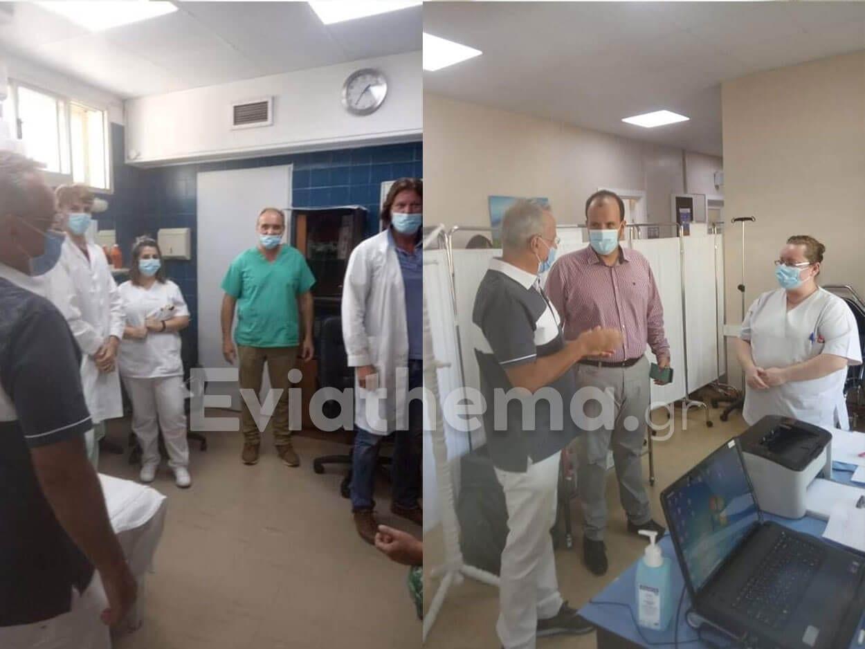 Θανάσης Ζεμπίλης: Το Νοσοκομείο Καρύστου