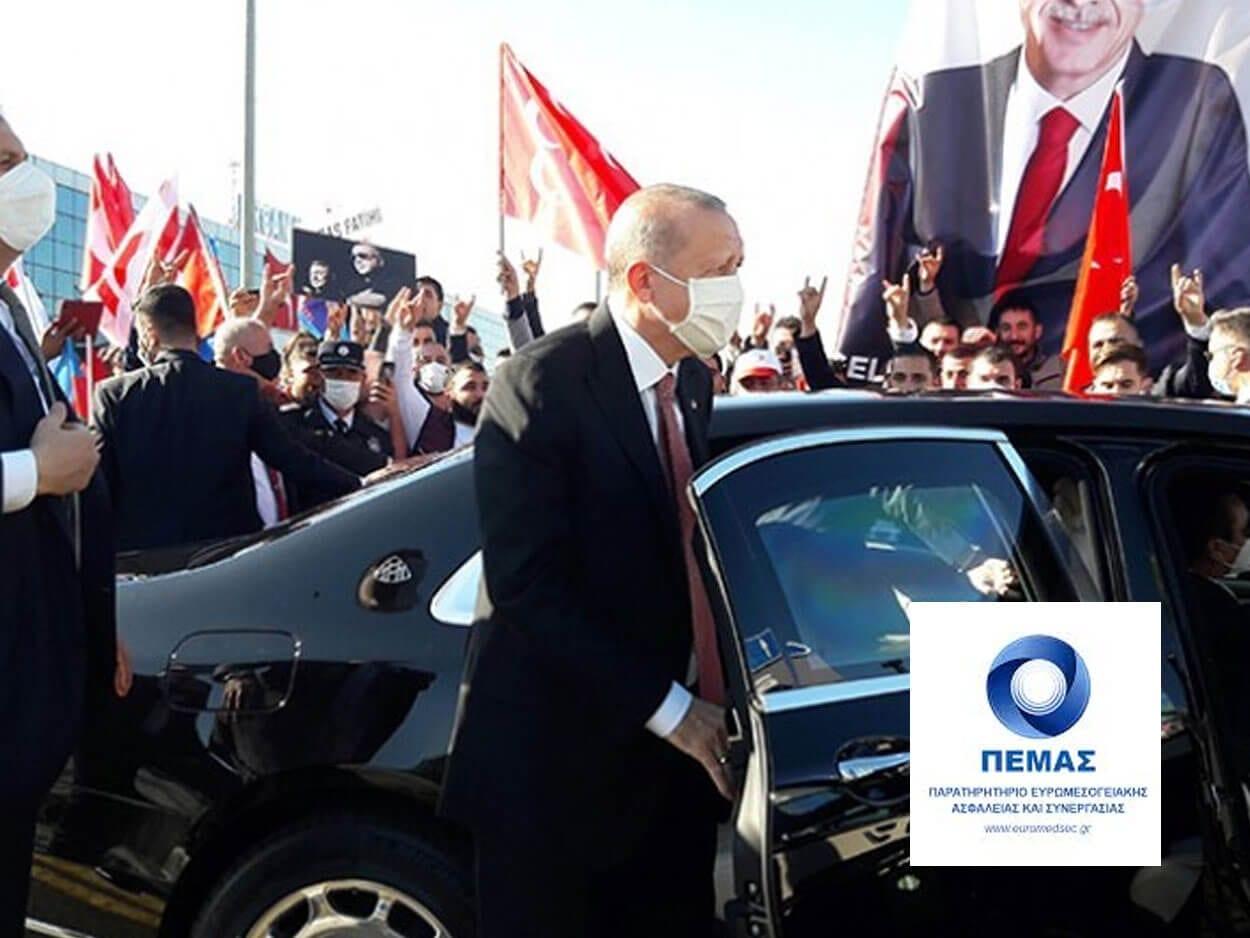 προκλήσεις Ερντογάν στην κατεχόμενη Κύπρο