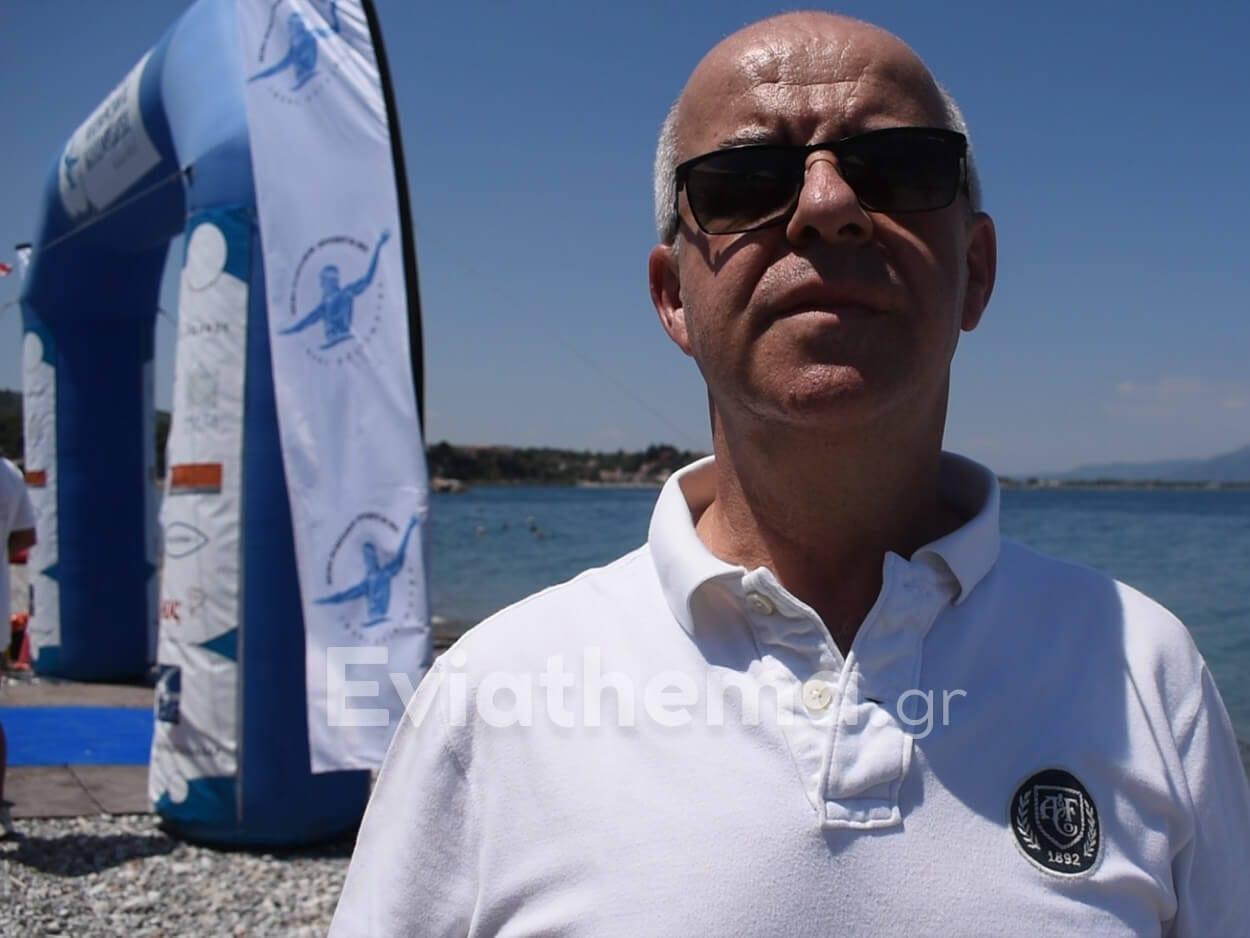 Νίκος Σουλιώτης για την Αυθεντικό Μαραθώνιο Κολύμβησης