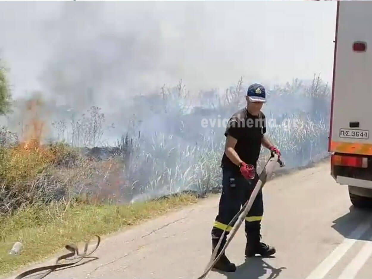Πολιτικά Ευβοίας: Δύο φωτιές