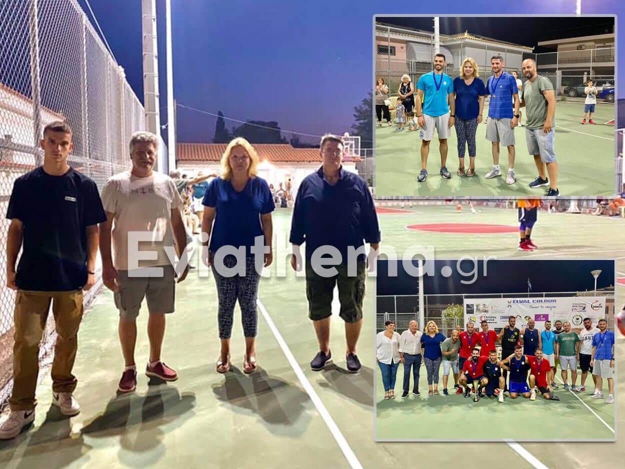 μπάσκετ 3on3 Αυλίδας Δήμαρχος Χαλκιδέων