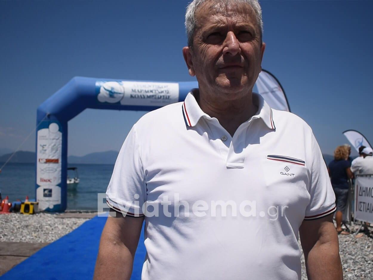 Κώστας Γαλάνης για τον Αυθεντικό Μαραθώνιο Κολύμβησης