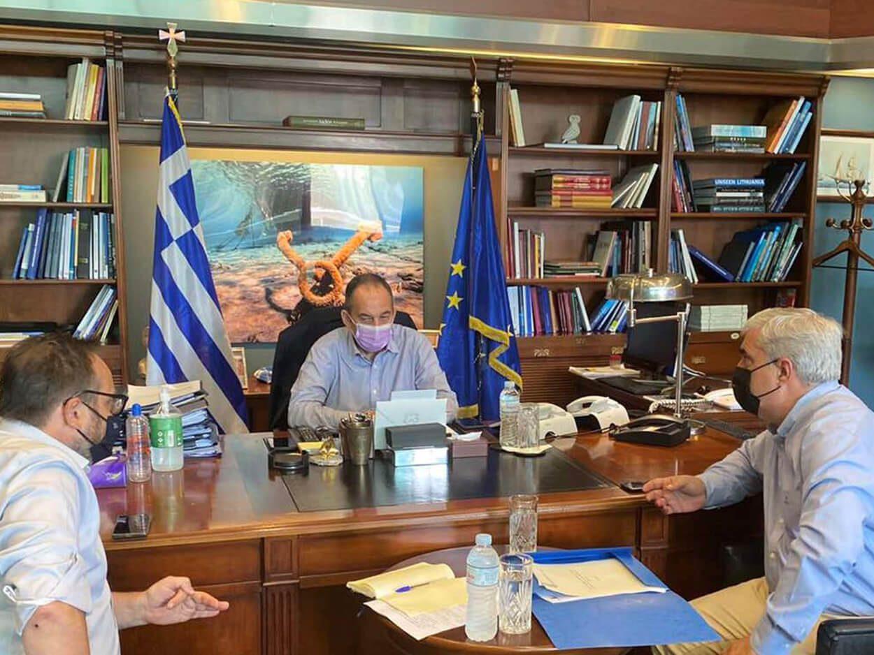 Υπουργείο Ναυτιλίας Σίμος Κεδίκογλου