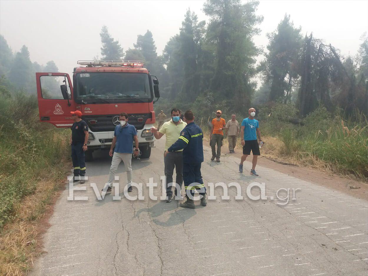 Περιφέρεια Στερεάς Ελλάδας αποτίμηση ζημιών φωτιές