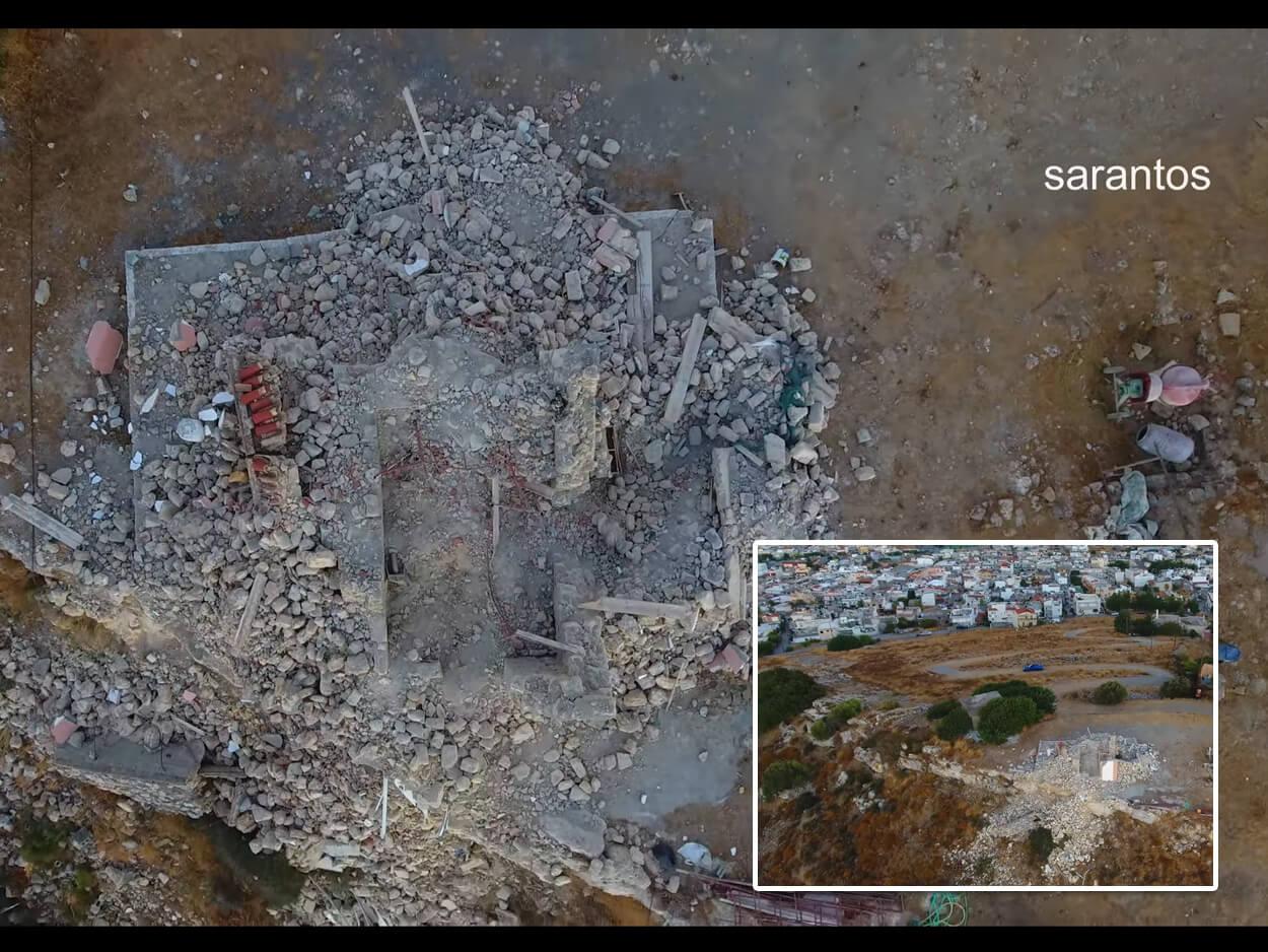 Κρήτη Νέες καταρρεύσεις κτιρίων