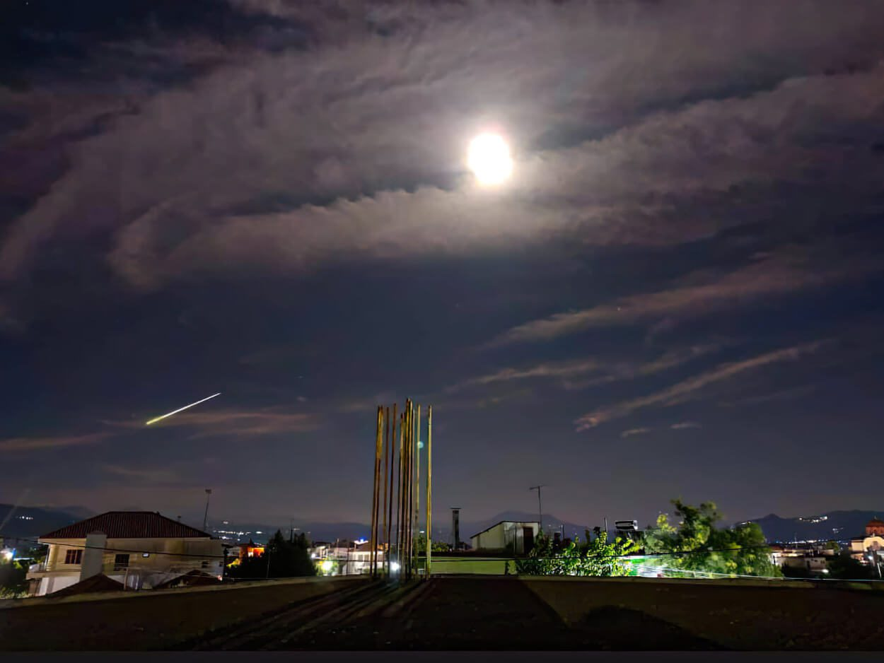 Μετεωρίτης Ορατός