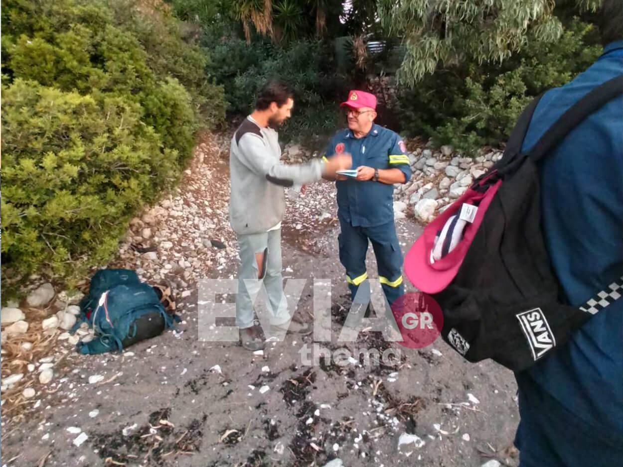 Εύβοια: 24χρονος ορειβάτης εγκλωβίστηκε