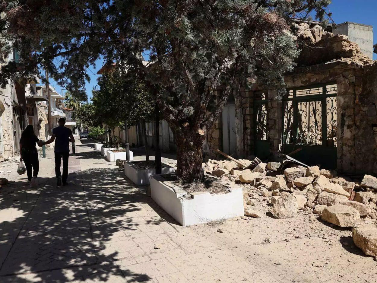 ισχυρός μετασεισμός στην Κρήτη